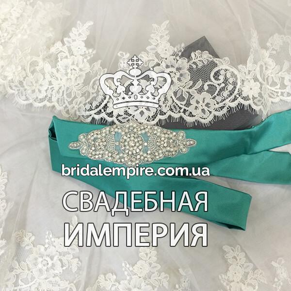 Свадебный зал бирюзового цвета